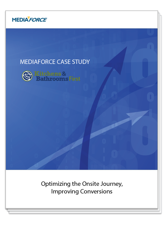 Kitchen & Bathrooms First Case Study Mediaforce