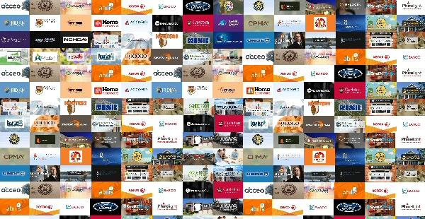 Mediaforce Marketing Client Collage