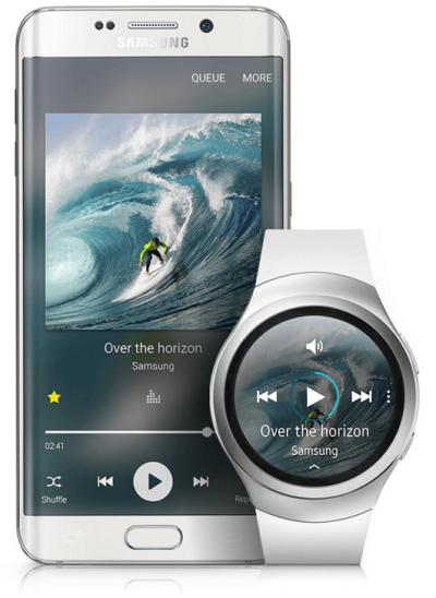 Samsung Galaxy S7 and Galaxy Gear 2 Smart Watch