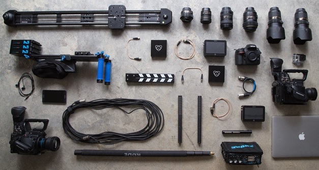 Equipment to make visual content